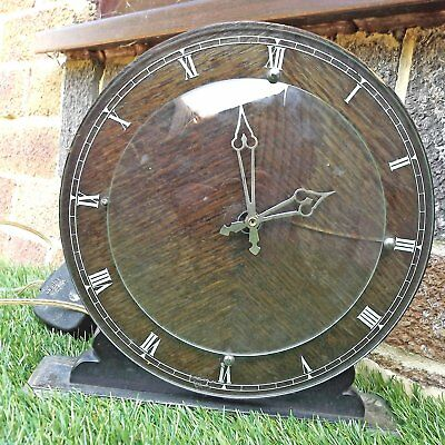 Vintage Ferranti Art Deco Style Electric Clock - In Need Of Attention
