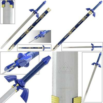 Legend Of Zelda Link Master Sword Of Time - Real Carbon Steel Version Brand New