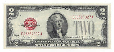 FR1508 1928G United States of America $2 United States Note E03587327A