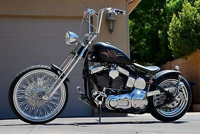 Bobber Old School Springer Bobber 2015 RANDY COUTURE'S CUSTOM OLD-SCHOOL SPRINGER BOBBER *One-Off HOT ROD Bobber!