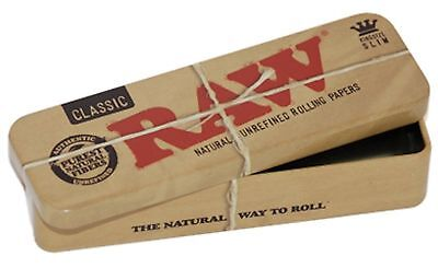 RAW Cone Caddy King Size - 2 Containers - Storage Metal Case Box Stash Classic