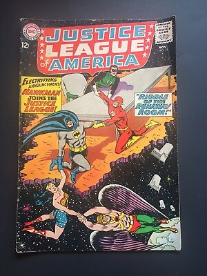 Justice League Of America #31 Comic Book Dc Silver Age 1964