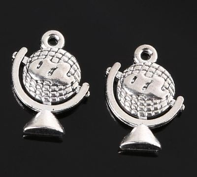 2 Student nurse charms antique silver tone MD81