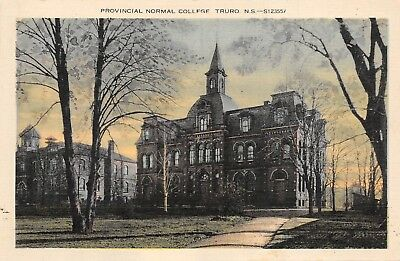 Provincial Normal College Truro Nova Scotia NS 397