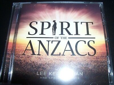 LEE KERNAGHAN With Special Guests Spirit Of The Anzacs (Australia) CD – New