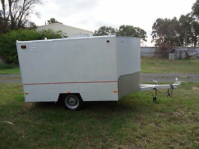 enclosed motorcycle/go-kart trailer