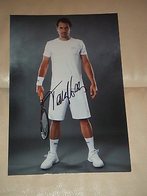 Tommy Haas - Autogramm - TENNIS - 20 x 25 cm - signed photo