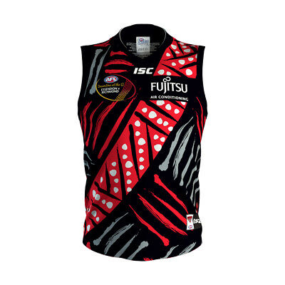 Essendon Bombers AFL 2018 ISC Indigenous Guernsey Adults & Kids Sizes! In Stock!