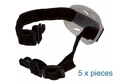 HARD HAT CHIN STRAP 5 PIECES COMFORT FIT, CHIN CUP, UK Seller