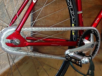 Flexibler COLOR Kettenschutz Chaincover mitlaufend Singlespeed Fixie BMX NEW