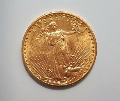 USA 20 Dollars St.Gaudens Goldmünze 1924