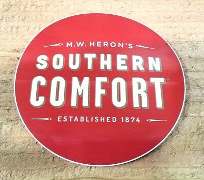 """Lot of 17 - M.W. Herons Southern Comfort Stickers Decals 4"""""""