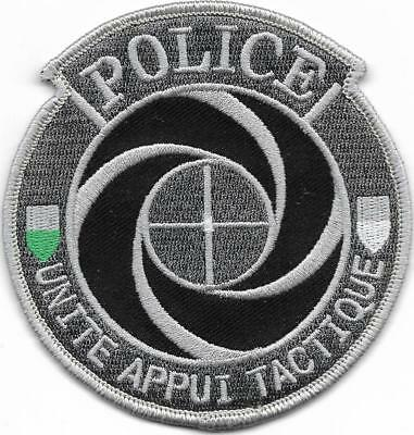 SCHWEIZ Kantonspolizei  VAUD  SEK SWAT Unite Appui Tactique Police Polizei Patch