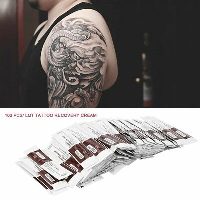 Details about  100pcs Tattoo Recovery Cream A&D Ointment UK Sachets Fougera VGP