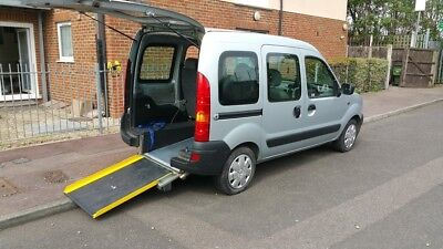 Renault Kangoo 1.6 Auto Petrol Wheelchair+Scooter Disabled Accessible Vehicle