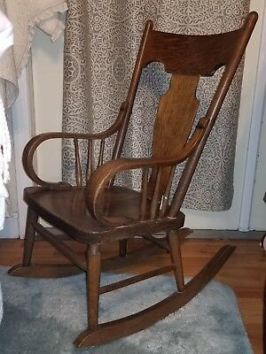 Antique Child Rocking Chair Beautiful **LOCAL PICKUP ONLY**