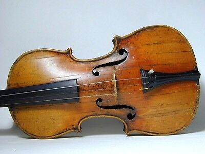 Italian French German 1708 Stradivarius Violin Crushed by Car + Restored by Lord