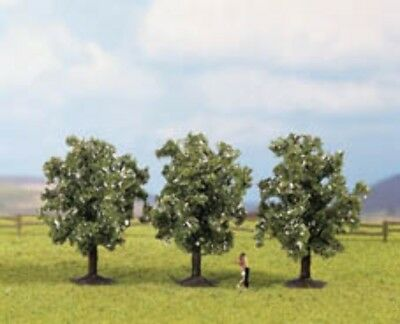 NOCH - 25511 Fruit Trees, white, pieces, 4.5 cm high N,Z