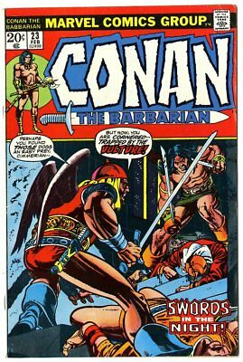 Conan the Barbarian #23 FN+ 6.5 off-white pages  1st app. Red Sonja  Marvel 1973