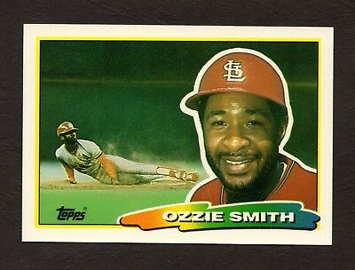 1988 Topps Big 228 Ozzie Smith St Louis Cardinals Baseball