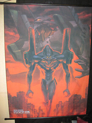 """29x40"""" Neon Genesis EVANGELION 2nd Impression WALL SCROLL poster 1997 anime"""