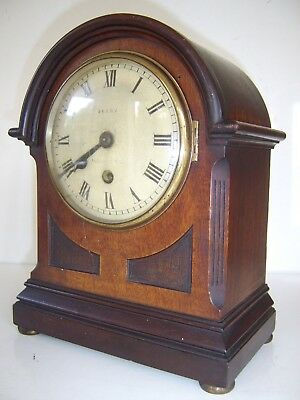 ANTIQUE MAHOGANY FUSSEE BRACKET CLOCK FOR RESTORATION Berry Scarborough