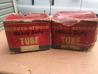 "VINTAGE - ANTIQUE CAR - TIRE - ''TUBES''  -- 17'' or - 18"" wheels--NEW"