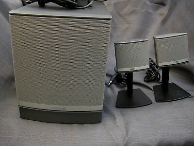 BOSE Companion 3 Series II Computer PC MAC Multimedia Speaker System Subwoofer