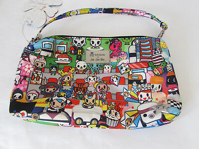 Jujube Ju Ju Be Tokidoki Be Quick wristlet diaper hand bag Sushi Cars B