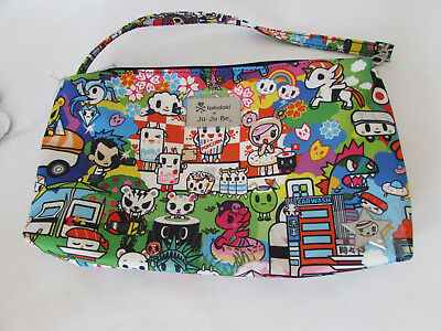 Jujube Ju Ju Be Tokidoki Be Quick wristlet diaper hand bag Sushi Cars M