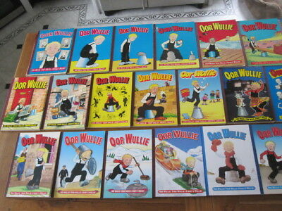 Oor Wullie Bi-Annuals - Complete collection from 1966 to 2014 (25 paperbacks)