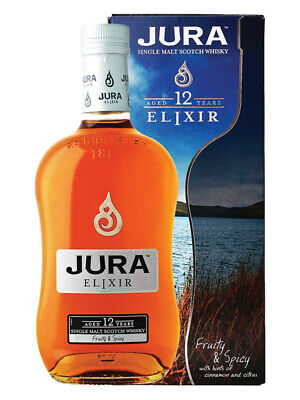 Jura 12YO Elixir Highland Single Malt Scotch Whisky 700ml(Boxed)