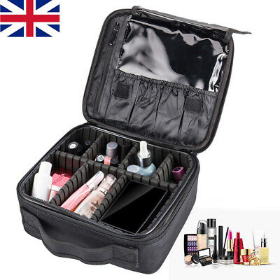 Professional Large Make Up Bag Vanity Case Box Cosmetic Nail Tech Storage Beauty