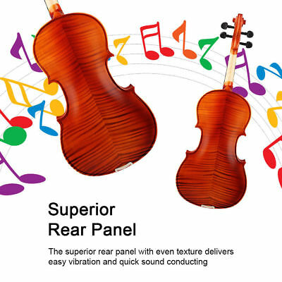 1pc IRIN 16inch Maple Spruce Wood 4 String Viola with Strings&Shoulder Rest