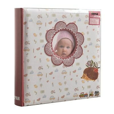 "Baby Album, Baby Memory Book 200 Pockets For 6X4"" Photos, Ideal Baby Shower Gift"