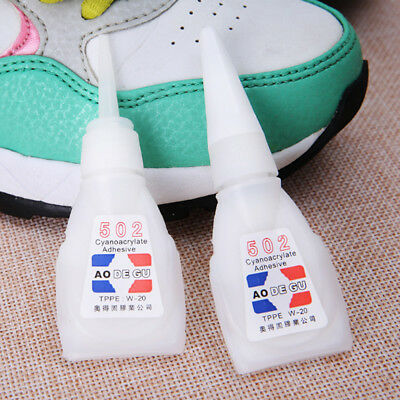 1/5Pcs Cyanoacrylate Adhesive Strong Instant Adhesion Fast Repair 502 Super Glue
