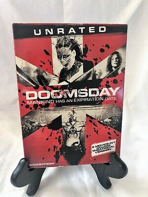 DOOMSDAY New Sealed DVD Unrated + Theatrical Editions R5