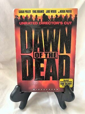 Dawn of the Dead (DVD, 2004, Unrated Directors Cut Widescreen) VG, - With Sleeve