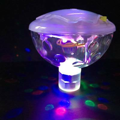 Disco Glow Show 5 lighting Modes SPA Floating Lamp Swimming Pool-NEW