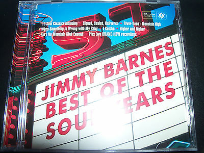 Jimmy Barnes (Cold Chisel) Best of The Soul Years CD - New