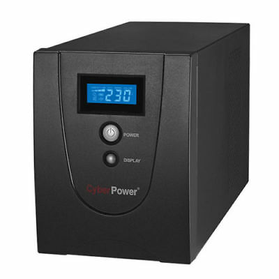 CyberPower Value SOHO UPS 4 Outlets 2200VA 1320W Uninterruptible Power Supply