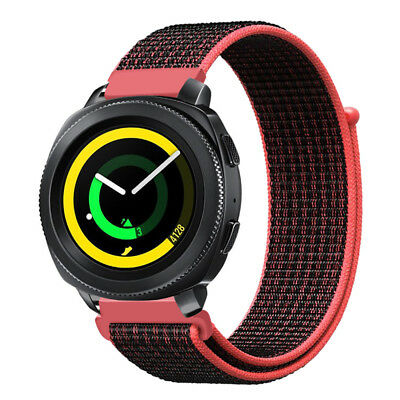 For Samsung Gear Sport /Gear S2 Classic Watch Band 20mm Nylon Loop Strap Replace