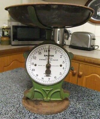 Vintage Salter Bench Top Scales