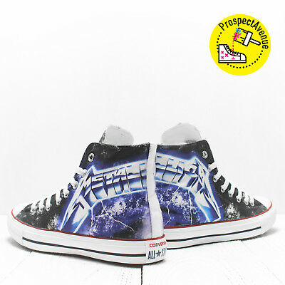 030544beceb2 Metallica Custom Athletic Shoes Ride the lightning Converse All Star  sneakers
