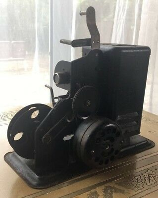 Vintage Lindstrom 16mm Projector with Induction Motor