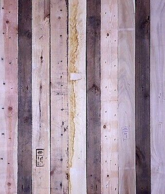 Rustic Reclaimed Recycled Pallet Wood Timber Wall Cladding £18/m2 - Square Meter