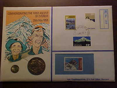 1953 Hutt Commerative Uncirculated First Ascent Of Everest Pnc No 91 R 200