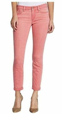 Nwot Jessica Simpson Women's Rolled Crop Skinny Jeans - Canyon Pink - 8/29