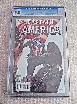 Captain America #34 (1St Appearance Of Bucky Barnes As Cap) ***cgc Graded 9.8***