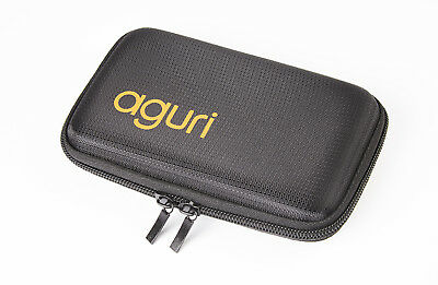 Aguri Universal Hard Style Carry Case for portable satellite navigation systems